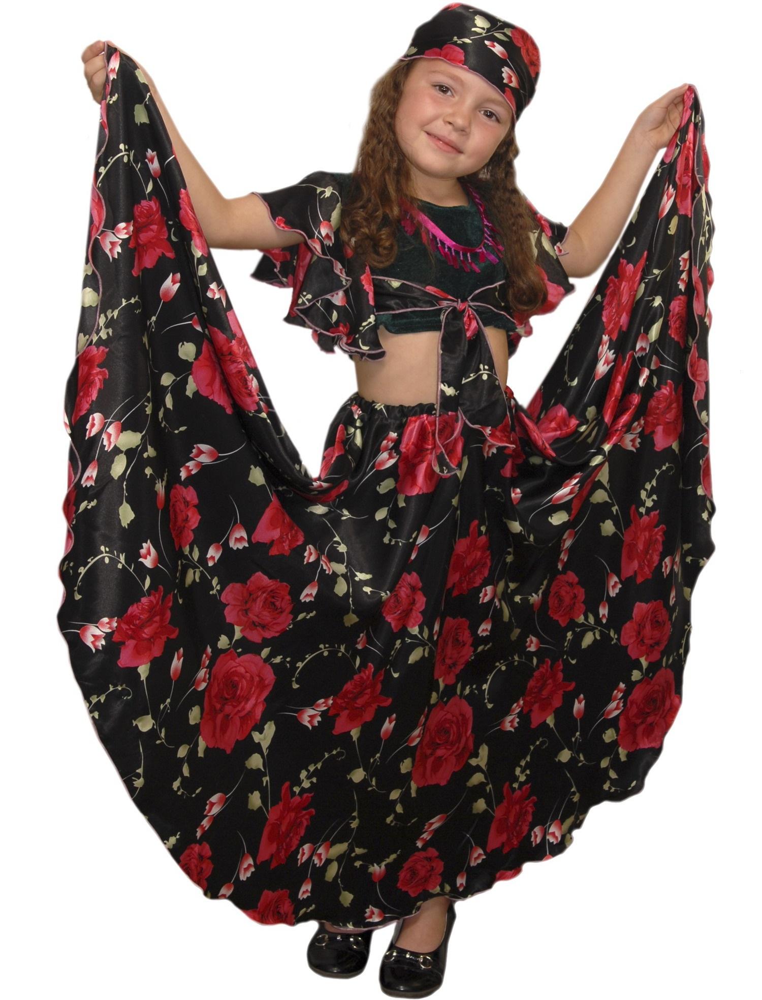 Как можно своими руками сделать костюм цыганки